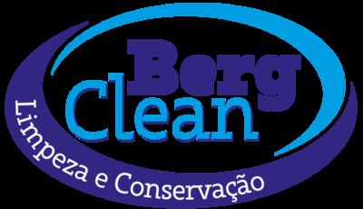 Logomarca BERG CLEAN - LIMPEZA E CONSERVACAO