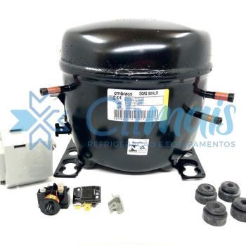 EGAS80HLR 220V 60HZ - COMPRESSOR EMBRACO 1/4+ 220V R134 S/RESF 820BTUS/H 60H