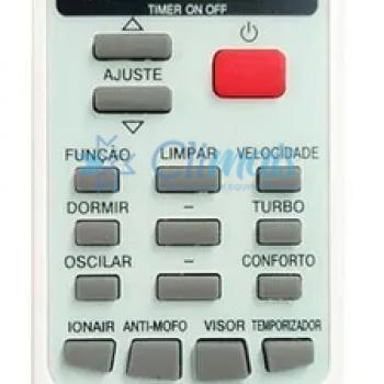 CONTROLE AR ELGIN SKY9066