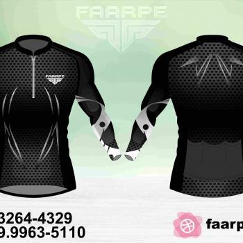 Kit 10 Camisetas Ciclismo Manga Longa Personalizado FAARPE #003