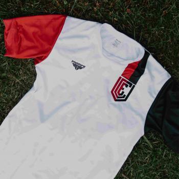 Camiseta VEC Oficial - Pro Soccer - Sem Número - Branca Slim
