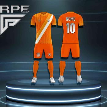 Kit 11 Conjuntos Futebol Personalizado, Camiseta, Calção e Meião #003