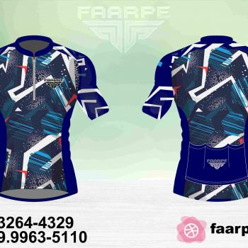 Kit 10 Camisetas Ciclismo Manga Curta Personalizado FAARPE #001