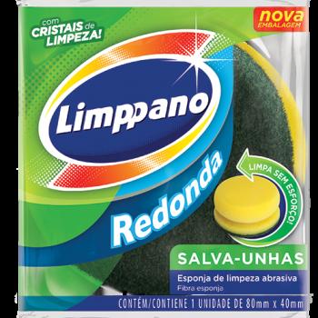ESPONJA MULTIUSO SALVA UNHA REDONDA LIMPPANO