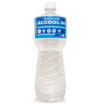 ALCOOL LIQUIDO 46 USO GERAL FLAMAGEL 1L