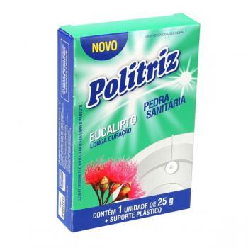 PEDRA SANITARIA POLITRIZ EUCALIPTO (CARTUCHO) 25 GR