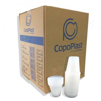 COPO PLAST COPOPLAST PS 180ML TRANSP 100UN