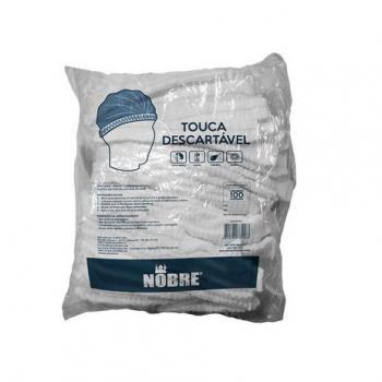 TOUCA DESCARTAVEL EM TNT SANFONADA - PACOTE C/ 100UN - NOBRE
