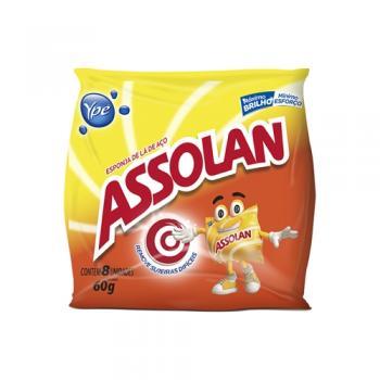 ESPONJA DE ACO ASSOLAN 8UN