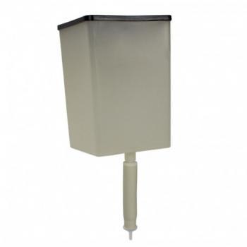 RESERVATORIO PLAST. 800ML COM TAMPA (P/ SABONETE ESPUMA) NOBRE NEW CLASSIC