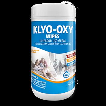 WIPES KLYO OXY LIMPADOR FLORAL C/50