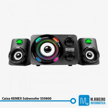 Caixa KMEX Subwoofer SS9800