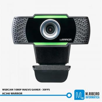 WEBCAM 1080P MAEVE GAMER - 30FPS - AC340 WARRIOR