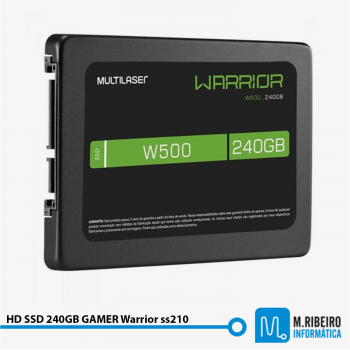 HD SSD 240GB GAMER Warrior ss210