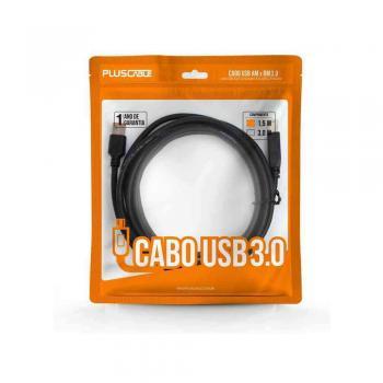 CABO EXTENSOR USB 2.0 AMxAF 3,0m PC-USB3002 PLUS CABLE@