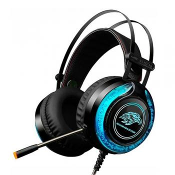 Headset Gamer Stereo c/ Microfone Preto K-MEX