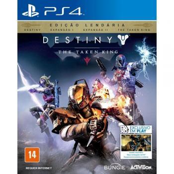 Jogo Destiny The Taken King - Edição Lendária - Ps4