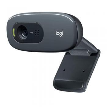 Logitech C270 HD Webcam, vídeo 720p com microfone