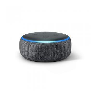 Echo Dot 3º Geração Preta - Alexa - Amazon