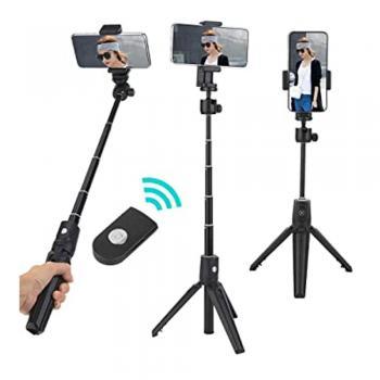 Tripe Bastao de Selfie Bluetooth p/ Celular Android IOS 1m (RE-SP0-5135)