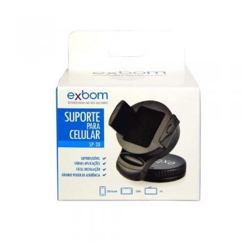 Suporte Veicular Universal p/ Celular Gps Regulagem 360° (SP-30)