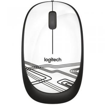 Mouse Optico M105 Branco USB 910-003138 Logitech