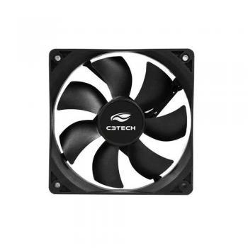Cooler Fan p/ Gabinete 120X120X25 Preto F7-100BK C3 TECH