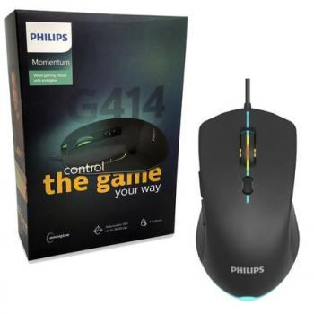 Mouse Gamer G414 Philips