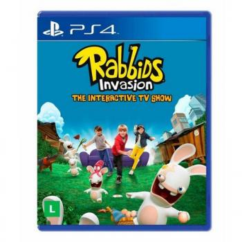 Jogo Rabbids Invasion - Ps4