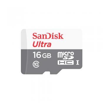 Cartão de Memoria Classe 10 16GB Ultra Sandisk