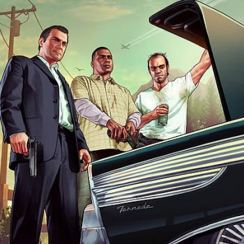 Mouse Pad Gamer Emborrachado Grand Theft Auto V (20,2cm x 34cm)