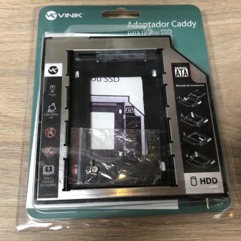 Adaptador Caddy para HD ou SSD 9,5  - VINIK
