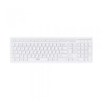 Teclado Flat TC300 Branco USB OEX