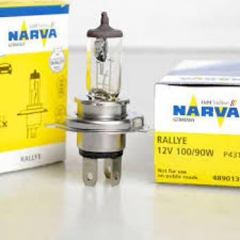 LAMPADA 1 LINHA H4 100/90W12V - NARVA RALLYE