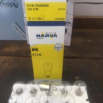 LAMPADA 1 LINHA 1 POLO 1141 21W 12V - NARVA